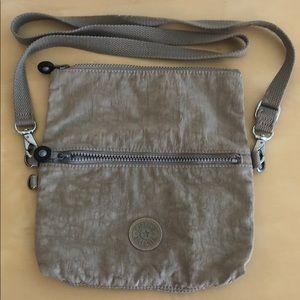 Kipling Crossbody Bag in Light Grey